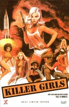 The Doll Squad - German DVD cover (xs thumbnail)