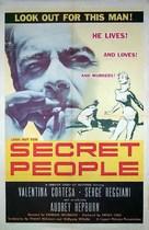 The Secret People - Movie Poster (xs thumbnail)