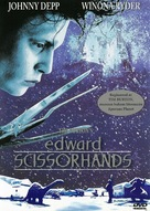 Edward Scissorhands - Swedish poster (xs thumbnail)