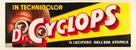 Dr. Cyclops - Italian Movie Poster (xs thumbnail)