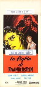 Frankenstein's Daughter - Italian Movie Poster (xs thumbnail)