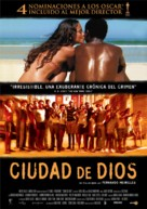 Cidade de Deus - Spanish Movie Poster (xs thumbnail)