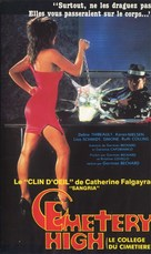 Cemetery High - Belgian VHS cover (xs thumbnail)