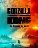 Godzilla vs. Kong - French Movie Poster (xs thumbnail)