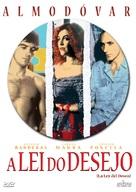 La ley del deseo - Brazilian Movie Cover (xs thumbnail)