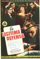 Quai des Orfèvres - Spanish Movie Poster (xs thumbnail)