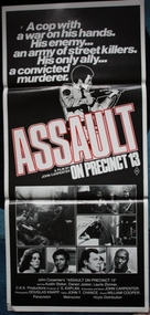 Assault on Precinct 13 - Australian Movie Poster (xs thumbnail)