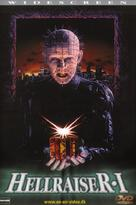 Hellraiser - Danish Movie Cover (xs thumbnail)