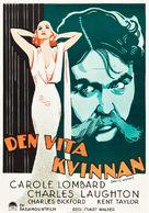 White Woman - Swedish Movie Poster (xs thumbnail)