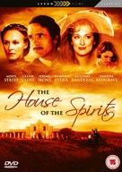 The House of the Spirits - British Movie Cover (xs thumbnail)