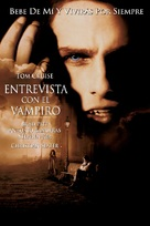 Interview With The Vampire - Argentinian Movie Cover (xs thumbnail)