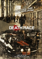 Death Race - Danish Movie Poster (xs thumbnail)
