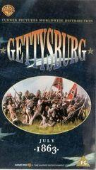 Gettysburg - British VHS movie cover (xs thumbnail)