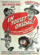 The Sin of Harold Diddlebock - Danish Movie Poster (xs thumbnail)