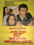 The Spy Who Loved Me - German Movie Poster (xs thumbnail)