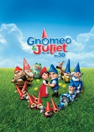 Gnomeo and Juliet - British Movie Poster (xs thumbnail)