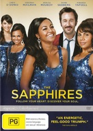 The Sapphires - Australian DVD cover (xs thumbnail)