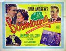 Boomerang! - British Movie Poster (xs thumbnail)