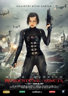Resident Evil: Retribution - Czech Movie Poster (xs thumbnail)