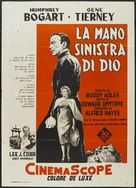 The Left Hand of God - Italian Movie Poster (xs thumbnail)