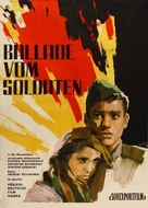Ballada o soldate - German Movie Poster (xs thumbnail)
