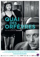 Quai des Orfèvres - French Re-release poster (xs thumbnail)