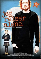 Jeg reiser alene - Norwegian Movie Poster (xs thumbnail)