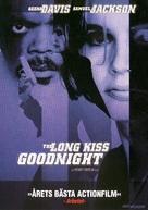 The Long Kiss Goodnight - Swedish Movie Cover (xs thumbnail)