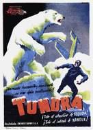 Tundra - Spanish Movie Poster (xs thumbnail)