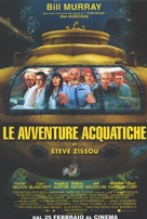 The Life Aquatic with Steve Zissou - Italian Movie Poster (xs thumbnail)
