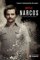 """Narcos"" - Norwegian Movie Poster (xs thumbnail)"