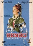 Senso - Brazilian DVD movie cover (xs thumbnail)