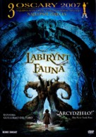 El laberinto del fauno - Polish Movie Cover (xs thumbnail)