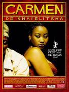 U-Carmen e-Khayelitsha - French poster (xs thumbnail)