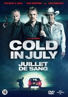 Cold in July - Belgian DVD movie cover (xs thumbnail)