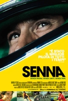 Senna - Italian Movie Poster (xs thumbnail)
