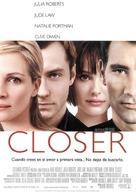 Closer - Spanish poster (xs thumbnail)