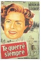 Viaggio in Italia - Spanish Movie Poster (xs thumbnail)