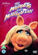 The Muppets Take Manhattan - British DVD movie cover (xs thumbnail)