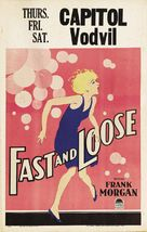 Fast and Loose - Theatrical poster (xs thumbnail)