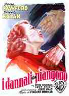 The Damned Don't Cry - Italian Movie Poster (xs thumbnail)