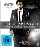 Nuit blanche - German Blu-Ray cover (xs thumbnail)