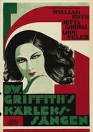 Lady of the Pavements - Swedish Movie Poster (xs thumbnail)