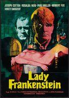 La figlia di Frankenstein - German Movie Poster (xs thumbnail)