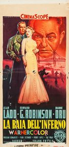 Hell on Frisco Bay - Italian Movie Poster (xs thumbnail)