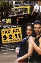Taxi Number 9211 - Indian DVD movie cover (xs thumbnail)