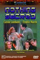 Nothing Sacred - Australian DVD cover (xs thumbnail)