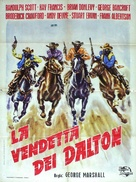 When the Daltons Rode - Italian Movie Poster (xs thumbnail)