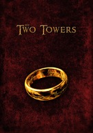 The Lord of the Rings: The Two Towers - DVD movie cover (xs thumbnail)