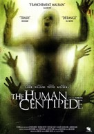 The Human Centipede (First Sequence) - French DVD movie cover (xs thumbnail)